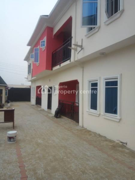 to Let a Room in a Flat Shared Apartment..(only The Parlour Available with Pop and Spacious), Marshill Estate Along Addo Road, Ado, Ajah, Lagos, Self Contained (single Rooms) for Rent