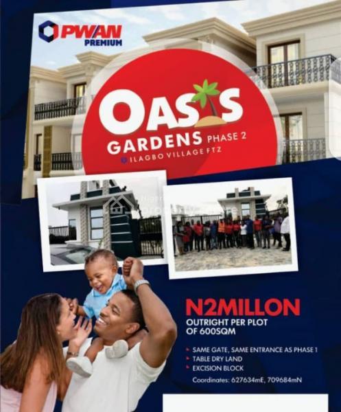 Oasis Gardens 2, Ilagbo Town, Off Lekki Coastal Road, Eluju, Ibeju Lekki, Lagos, Mixed-use Land for Sale