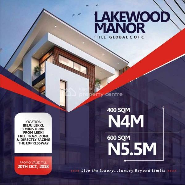 Plots of Land, Origanrigan, Ibeju Lekki, Lagos, Residential Land for Sale