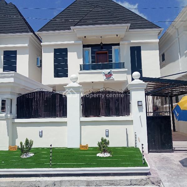 Four Bedroom Fully Detached Duplex with Boys Quarters, Bera Estate, Chevron Drive, Lekki, Lagos, Detached Duplex for Sale