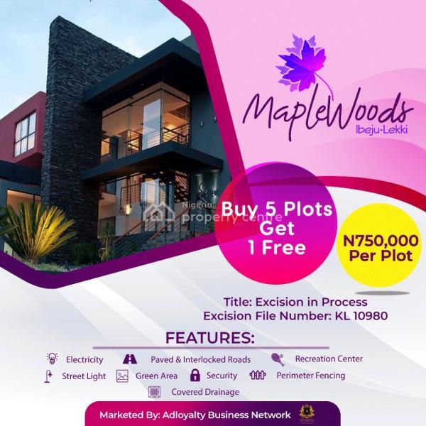 Estate Land, Lekki Free Trade Zone Road, Eleko, Ibeju Lekki, Lagos, Residential Land for Sale