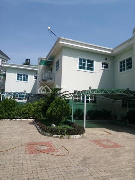 Serviced  4 Units of 4 Bedroom Terraced Duplex with a Maid Room,  Swimming Pool,  Fitted  Air Conditioners Etc, Maitama District, Abuja, Terraced Duplex for Rent