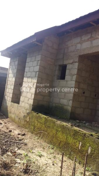 Uncompleted 3 Bedroom Flat and 2 Bedroom Flat on a Full Plot of Land, Tipper Garage Akute Ishaga, Fagba, Agege, Lagos, Detached Bungalow for Sale