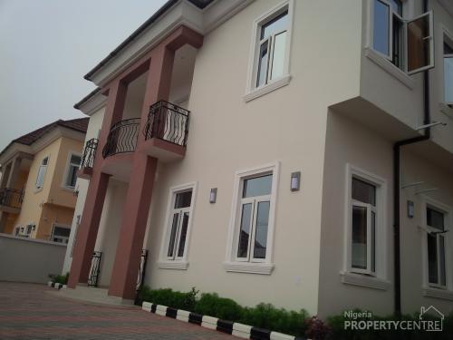 5 Bedroom Modern Designed Detached Duplex, Lekki, Lagos, 5 Bedroom House For Sale