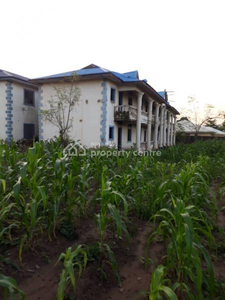 16 Units 1 Bedroom Flat on 4000sqm of Land, Abacha Road Area, Karu, Abuja, Block of Flats for Sale