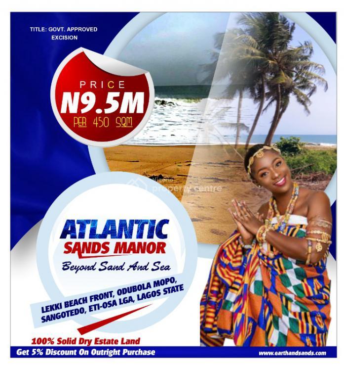 Land, Lekki Atlantic Sands Manor Beach Front Estate, Odubola- Mopo, Sangoted, Lekki, Lagos, Mixed-use Land for Sale