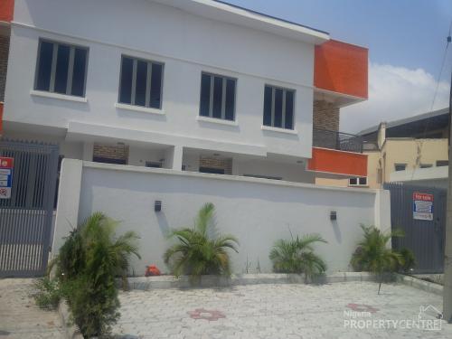 4 Nos Exquisitely Built 5 Bedroom Semi-detached, Lekki, Lagos, 5 Bedroom House For Sale