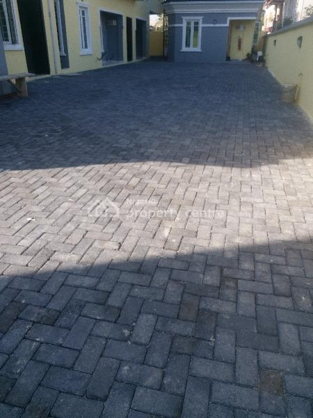 Self Service 2 Bedroom Flats, Gated Estate Olokonl By Road Safety, Olokonla, Ajah, Lagos, Flat for Rent