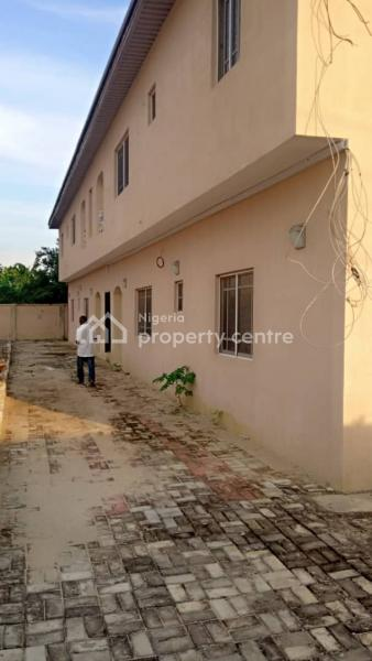 Standard 2 Bedroom Flat, Awobo Estate, Igbogbo, Ikorodu, Lagos, Terraced Bungalow for Rent