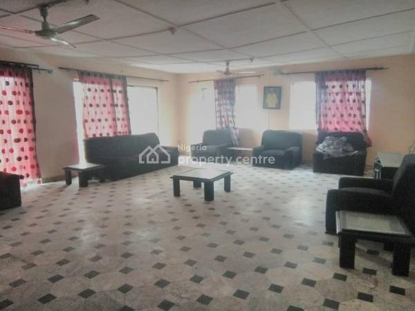 First Floor 4 Bedroom Flat with Terraced for Commercial Use, Bajulaiye Road, Akoka, Yaba, Lagos, Flat for Rent