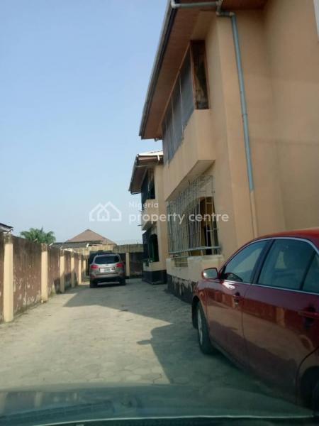 One Room Shared Apartment, Off Cooperative Villa, Badore, Ajah, Lagos, Self Contained (single Rooms) for Rent