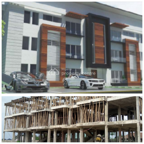 Exquisite 1 Bedroom Flats in a Resort Based Estate with Golf Course + Artificial Lake + Theme Park & Club House, Royal Palm Villa, Lekki - Epe Express Way, Ibeju Lekki, Lagos, Block of Flats for Sale