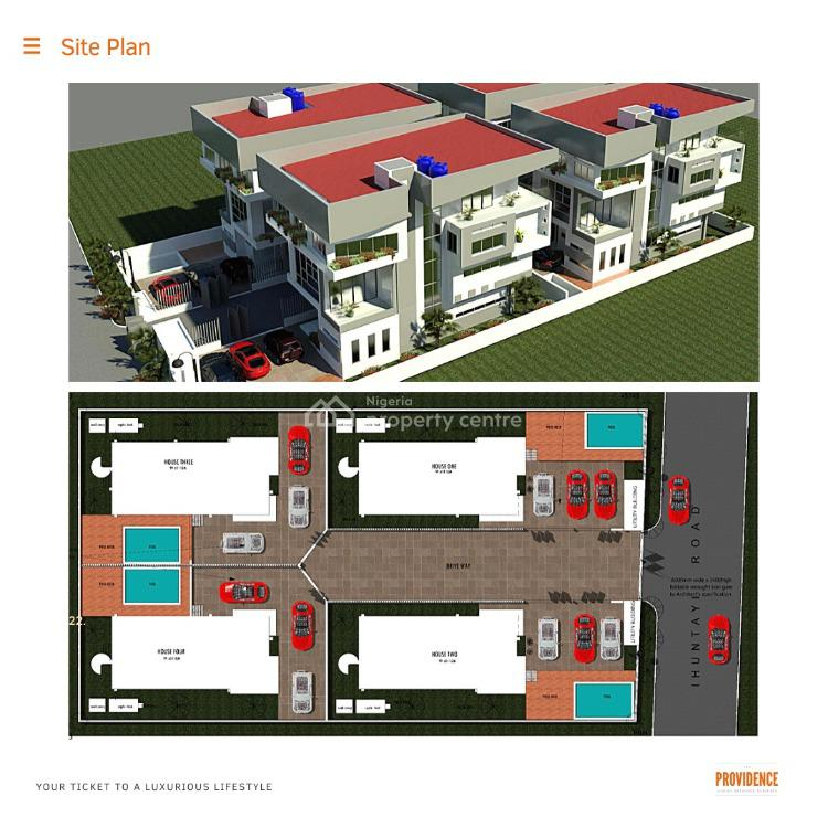 Off Plan 5 Bedroom Detached House with Swimming Pool, Off Palace Road, Oniru, Victoria Island (vi), Lagos, Detached Duplex for Sale
