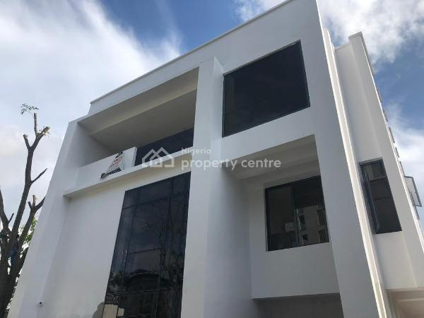 Luxurious & Exquisitely Finished 6 Bedroom Fully Detached Duplex with Bq, Swimming Pool, Study, Fully Fitted Kitchen and Fitted Ac Units, Off Bourdillon, Old Ikoyi, Ikoyi, Lagos, Detached Duplex for Sale