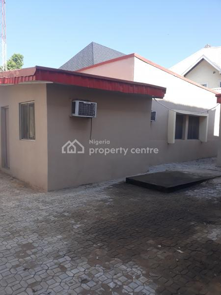 18 Office Suites Already Partition in a Detached House, Off Ibb Boulevard Way, Maitama District, Abuja, Office Space for Rent