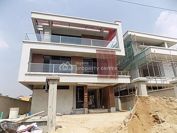 5 Bedroom Fully Detached Duplex with Bq, 2nd Round About., Lekki Phase 1, Lekki, Lagos, Detached Duplex for Sale