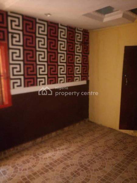 a Fairly Used and Spacious Room Self Contained, Ilaje, Bariga, Shomolu, Lagos, Flat for Rent