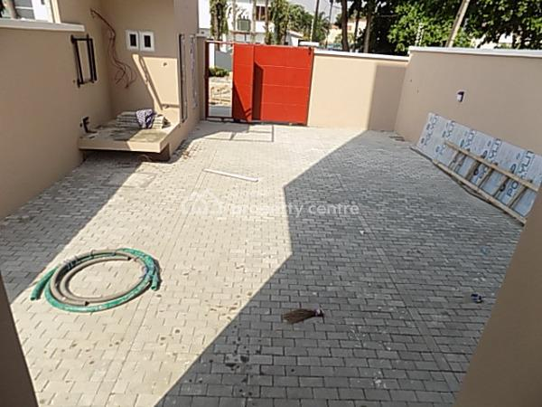 4 Bedroom Terraced Duplex with Bq, Self Compound, Security House, Fitted Kitchen, Osborne Close, Osborne, Ikoyi, Lagos, Terraced Duplex for Rent