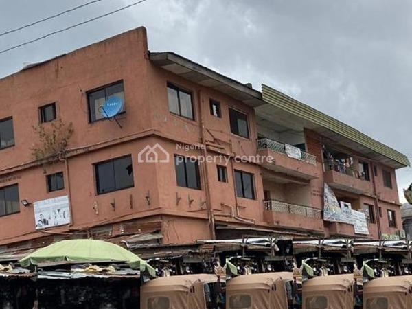 a 2 Storey Building with 11 Shops on a Corner Piece Land, Ikorodu, Lagos, Shop for Sale