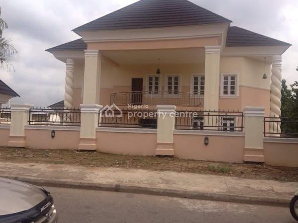 a 6 Bedroom Detached Duplex, 2 Bedroom Flat Guest Apartment En-suite, 2 Rooms Bq Sitting on 1,850sqm Land, Asokoro District, Abuja, Detached Duplex for Sale