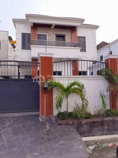 4 Bedroom Semi-detached Duplex with a Maids Room and Fitted Kitchen, All Rooms Ensuite, Suitable for Both Commercial/ Residential, Ikate Elegushi, Lekki, Lagos, Semi-detached Duplex for Sale