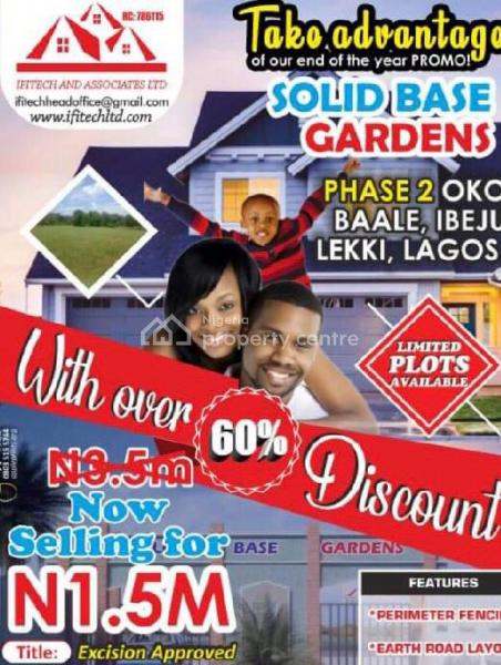 Excision Estate Land, Off New Ibeju Airport Road and Close to Pan Atlantic University, Ibeju Lekki, Lagos, Residential Land for Sale