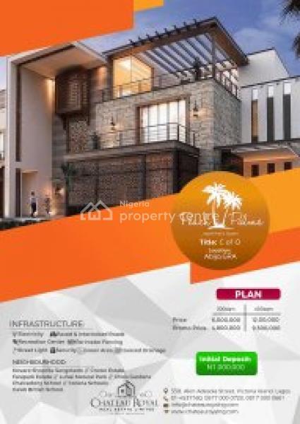 Estate Land Promo, Abijo Gra, Sangotedo, Ajah, Lagos, Residential Land for Sale