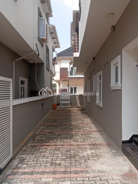 Luxury 2 Floors Brand New 5 Bedroom Fully Detached with a Room Bq, 12 Solar Panel, Water Treatment Plant, Fully Equipped Kitchen, Off Kushenla, Ikate Elegushi, Lekki, Lagos, Detached Duplex for Sale