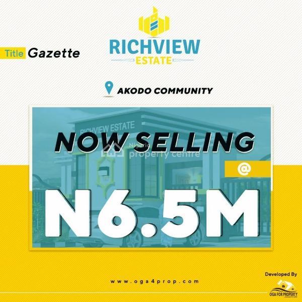 Land with Gazzete, Akodo Ise, Ibeju Lekki, Lagos, Residential Land for Sale