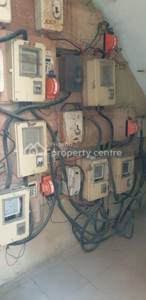 2 Bedroom All Rooms Ensuite + Prepaid Meter & Car Park, Off Ibukun Olu, Akoka, Yaba, Lagos, Flat for Rent