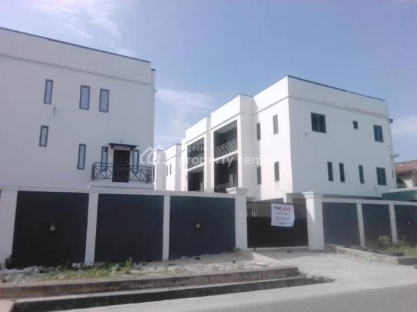 Luxury 5bedrooms Terrace House, Agungi, Lekki, Lagos, Terraced Duplex for Sale