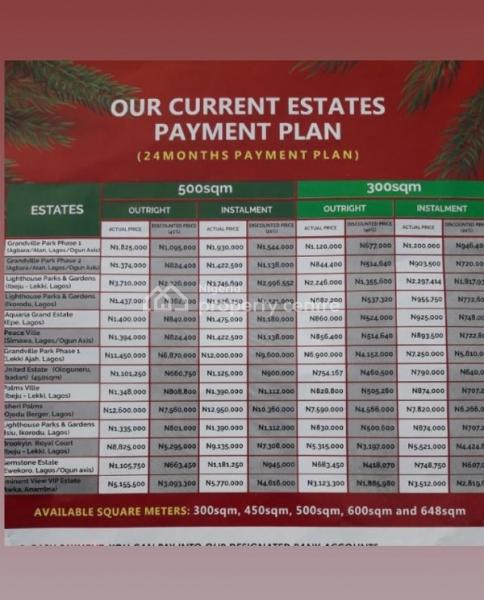 Landed Properties, Agbowa, Ikorodu, Lagos, Mixed-use Land for Sale