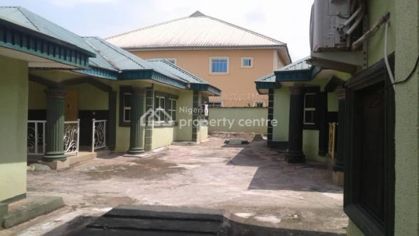 Inviting Storey Building of 4 Flats and 3 Separate Bungalows (3 Bedroom Each), Off Sapele Road, Okpe, Delta, House for Sale
