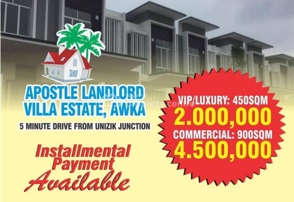 Estate Land, 5minutes Away From Unizik, Awka, Anambra, Residential Land for Sale