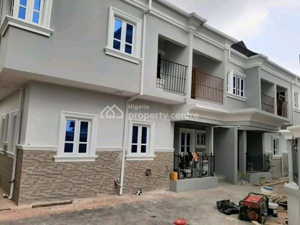 Newly Built and Well Finished 4 Bedroom Semi Detached Duplex with Bq, Arowojebe Estate, Mende, Maryland, Lagos, Semi-detached Duplex for Sale