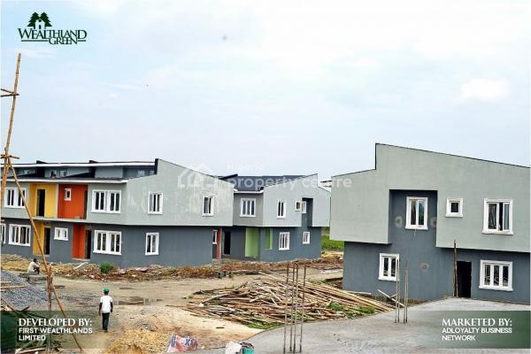 Luxury 4 Bedroom Fully Detached Duplex, 2 Mins Drive From The Express, Awoyaya, Ibeju Lekki, Lagos, Detached Duplex for Sale