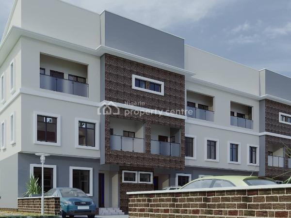 4 Bedroom Terraced Duplex for Off Plan Homes with Gym, Tvs/pool, 24hours Security Etc, Along The International Golf Road, Lakowe, Ibeju Lekki, Lagos, Terraced Duplex for Sale