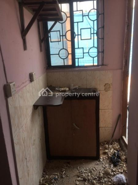 a Clean Room Self Contained, Around Mobil, Oke Ira, Ogba, Ikeja, Lagos, Mini Flat for Rent