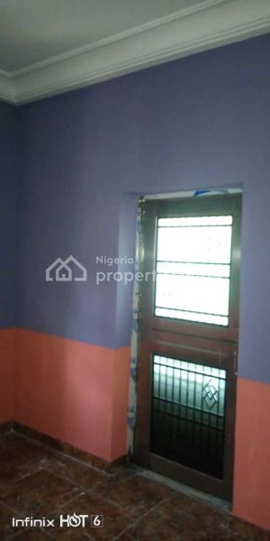 a Newly Renovated Luxury Room and Parlour Self Contained Flat with Floor Tiles and Modern Amenities and Fittings, an Estate Off College Road, Ogba, Ikeja, Lagos, Mini Flat for Rent