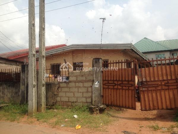 Twin 3 Bedroom Flat in 1 Compound, Trans Egbu Opposite Shoprite, Wetheral, Owerri, Imo, Detached Bungalow for Sale