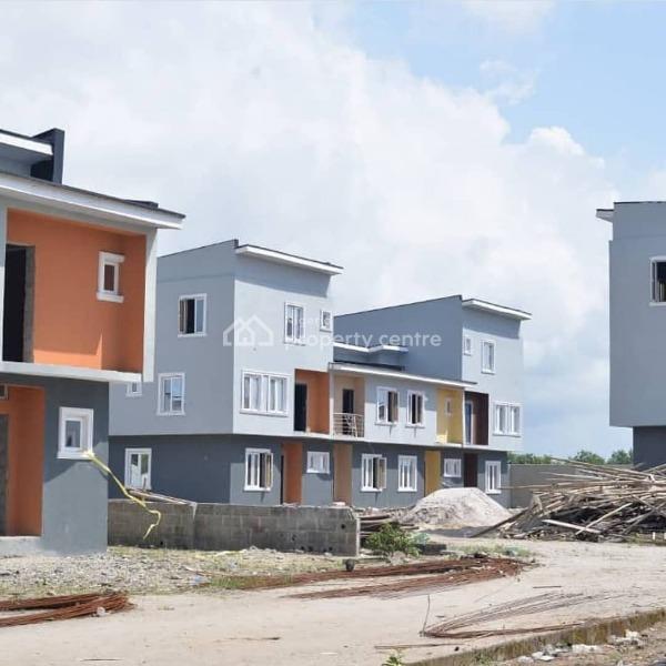 Beautiful 2 Bedroom and 3 Bedroom Terrace Duplex and Apartment, Ajah Lagos, Sangotedo, Ajah, Lagos, Terraced Duplex for Sale