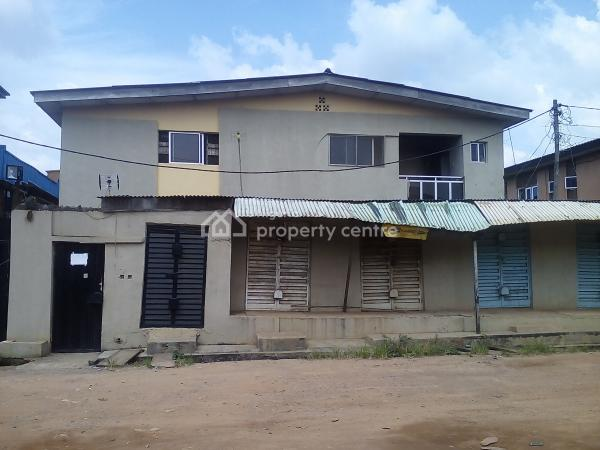 2 Houses on a Plot of Land, Around Justrite, Abule Egba, Ijaiye, Lagos, Block of Flats for Sale