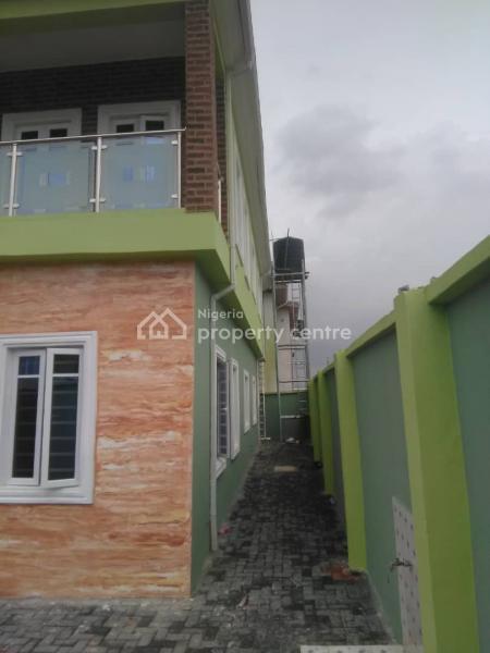 Luxury 4 Bedroom Duplex with One Room Bq in a Small Estate, Tabon Tabon Nitel Area, Oko-oba, Agege, Lagos, Detached Duplex for Sale