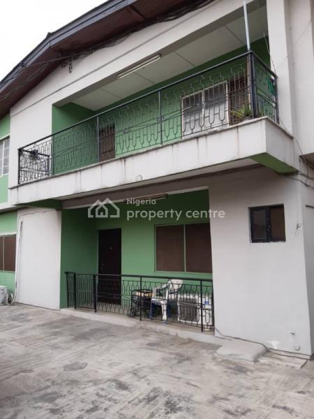 Decent 3 Bedroom Flat, Is at New Garage By Jolad Hospital, Ifako, Gbagada, Lagos, Flat for Rent