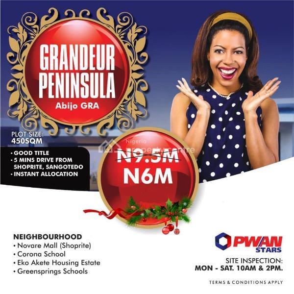 Estate Land with Good Title, Gra, Abijo, Lekki, Lagos, Residential Land for Sale