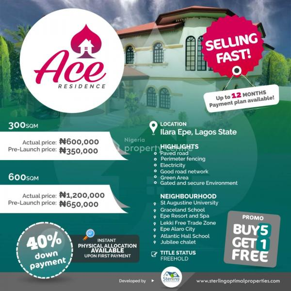 a Plot of Land, Epe, Lagos, Residential Land for Sale