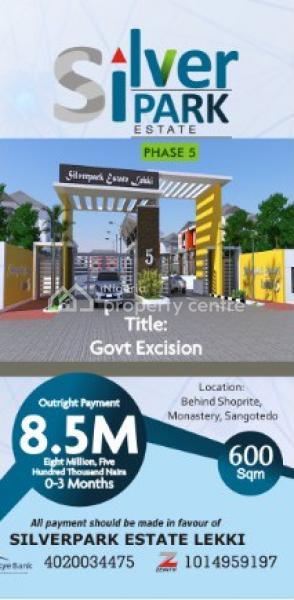 Estate Land, Behind The New Shop-rite/ Navare Mall, Monastery Road,, Sangotedo, Ajah, Lagos, Residential Land for Sale