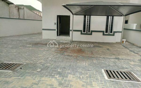 Newly Built 4 Bedroom Full Detached Duplex with Bq, Daniels Garden, Osapa, Lekki, Lagos, Detached Duplex for Sale
