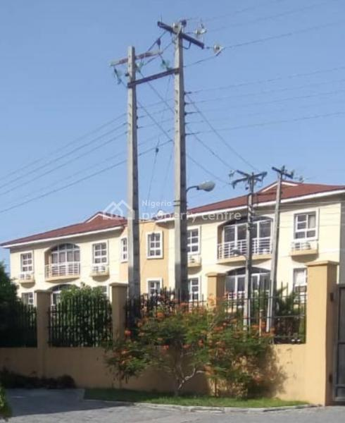 Fully Serviced 3 Bedroom Front View Apartment with a Bq, Milverton Estate , Jakande, Osapa, Lekki, Lagos, Flat for Sale