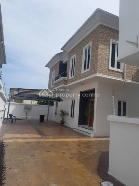 Brand New 5 Bedroom Semi Detached House with a Boys Quarter, Princess Folushade, Lekki Phase 1, Lekki, Lagos, Semi-detached Duplex for Rent